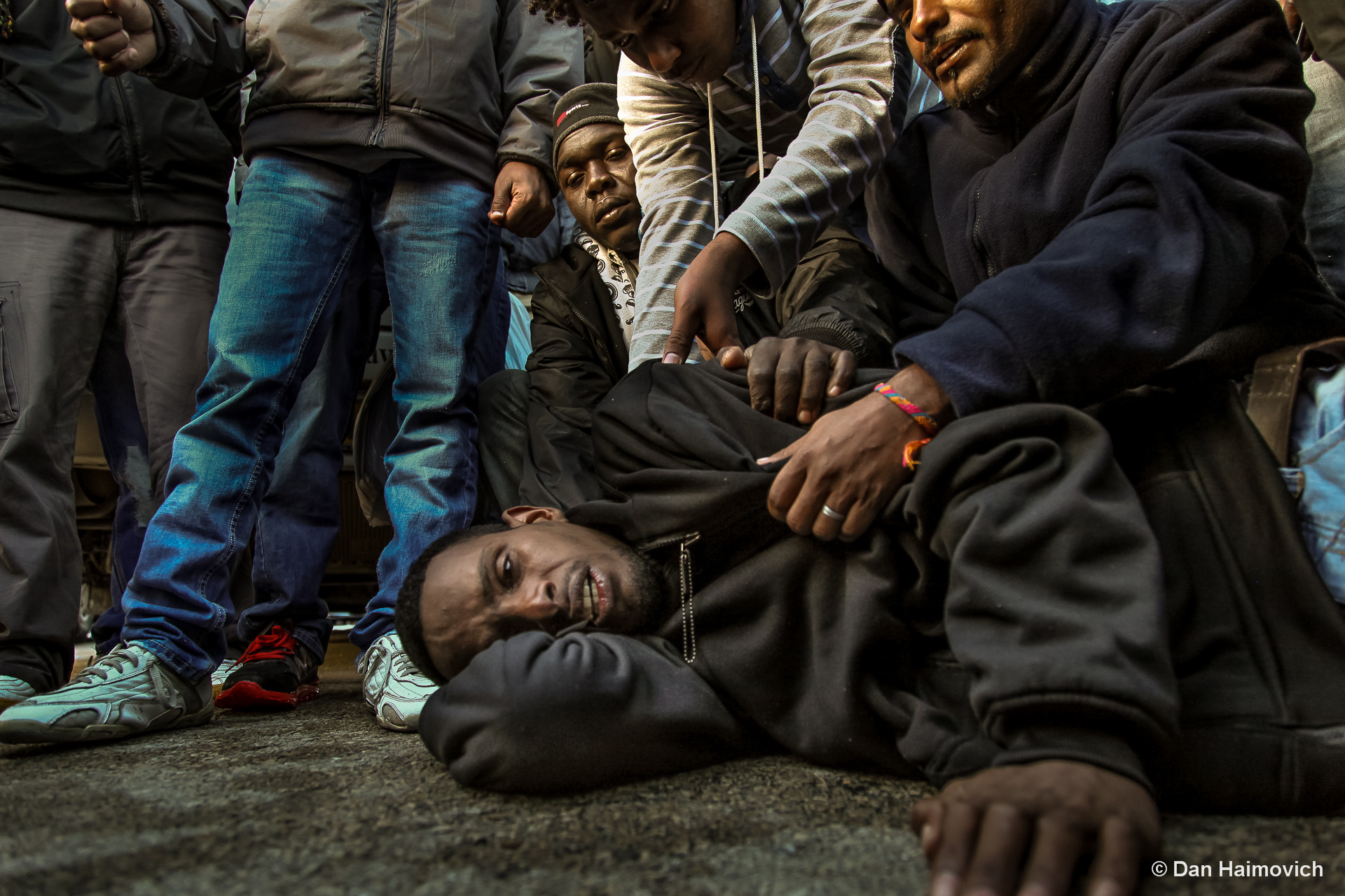 Asylum Seekers protest - Jerusalem - 2015